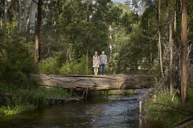 Healesville Engagement portraits 7