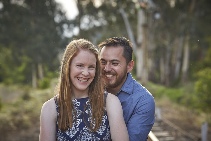 Healesville Engagement portraits 5