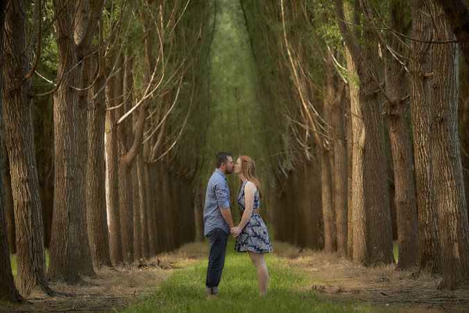 Healesville forest Engagement portraits 4