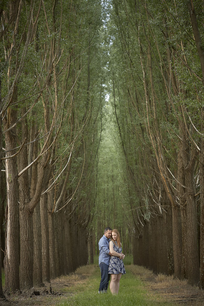 Healesville forest Engagement portraits 2